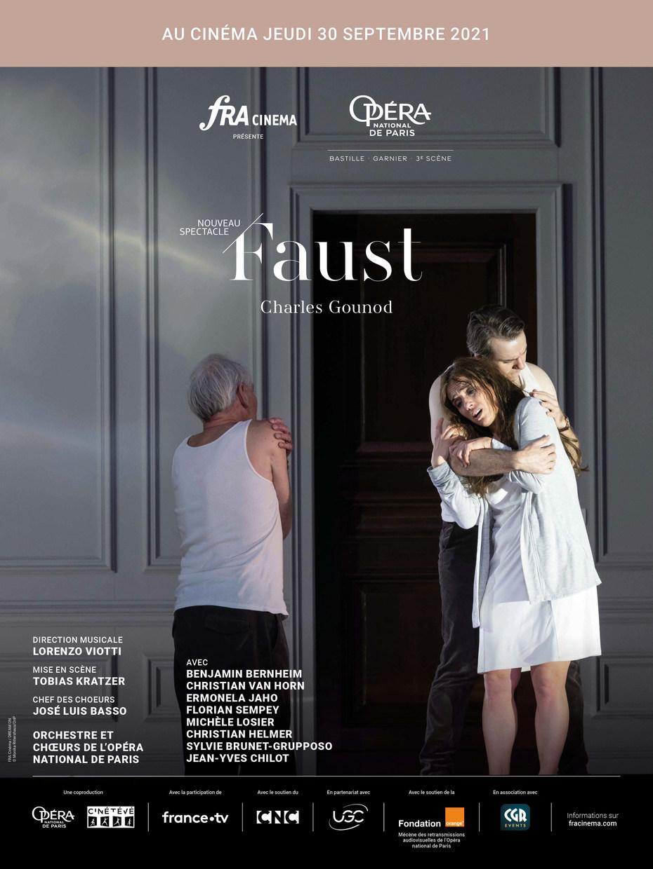 Photo du film Faust (Opéra de Paris-FRA Cinéma)